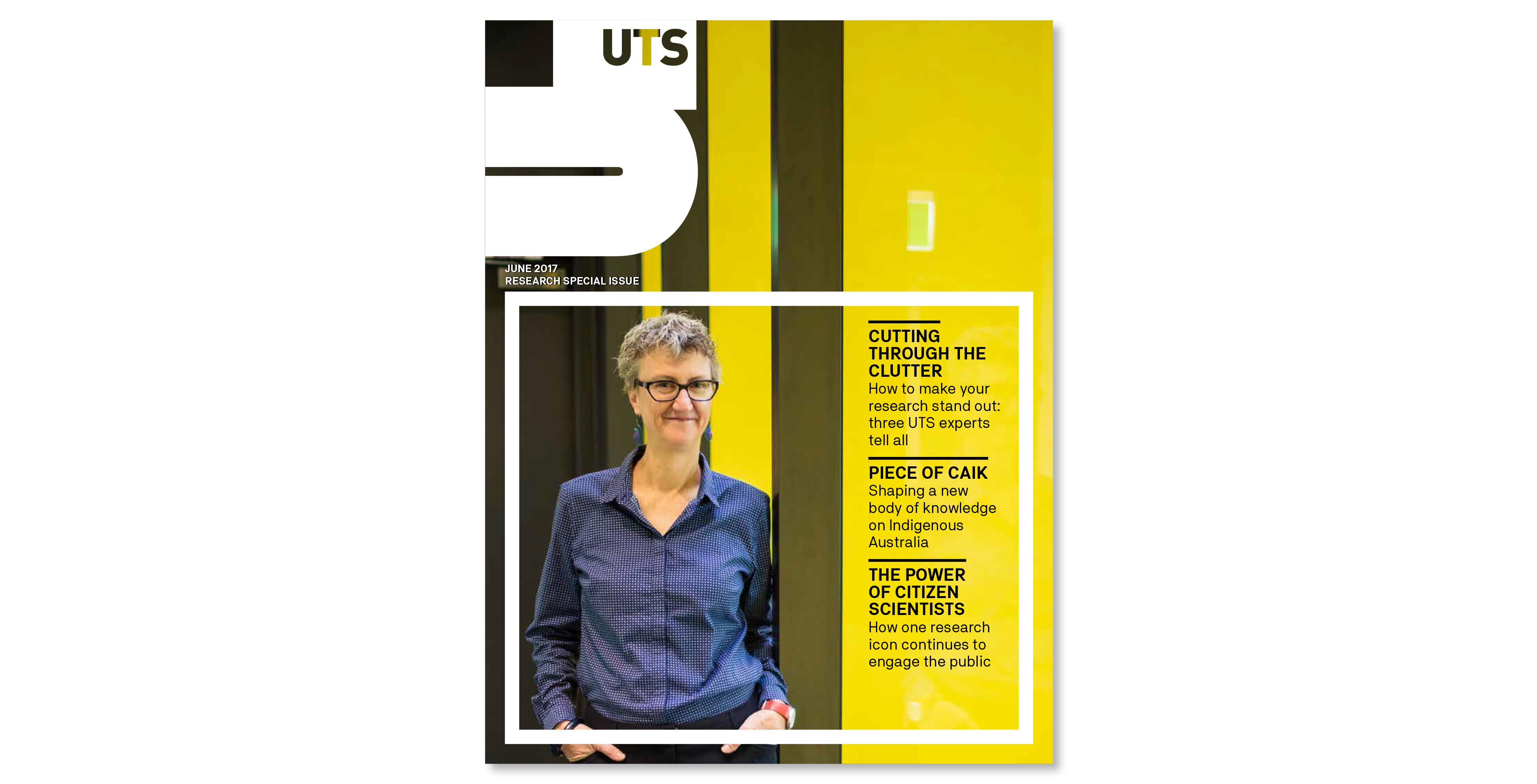 UTS U Magazine - new UTS brand