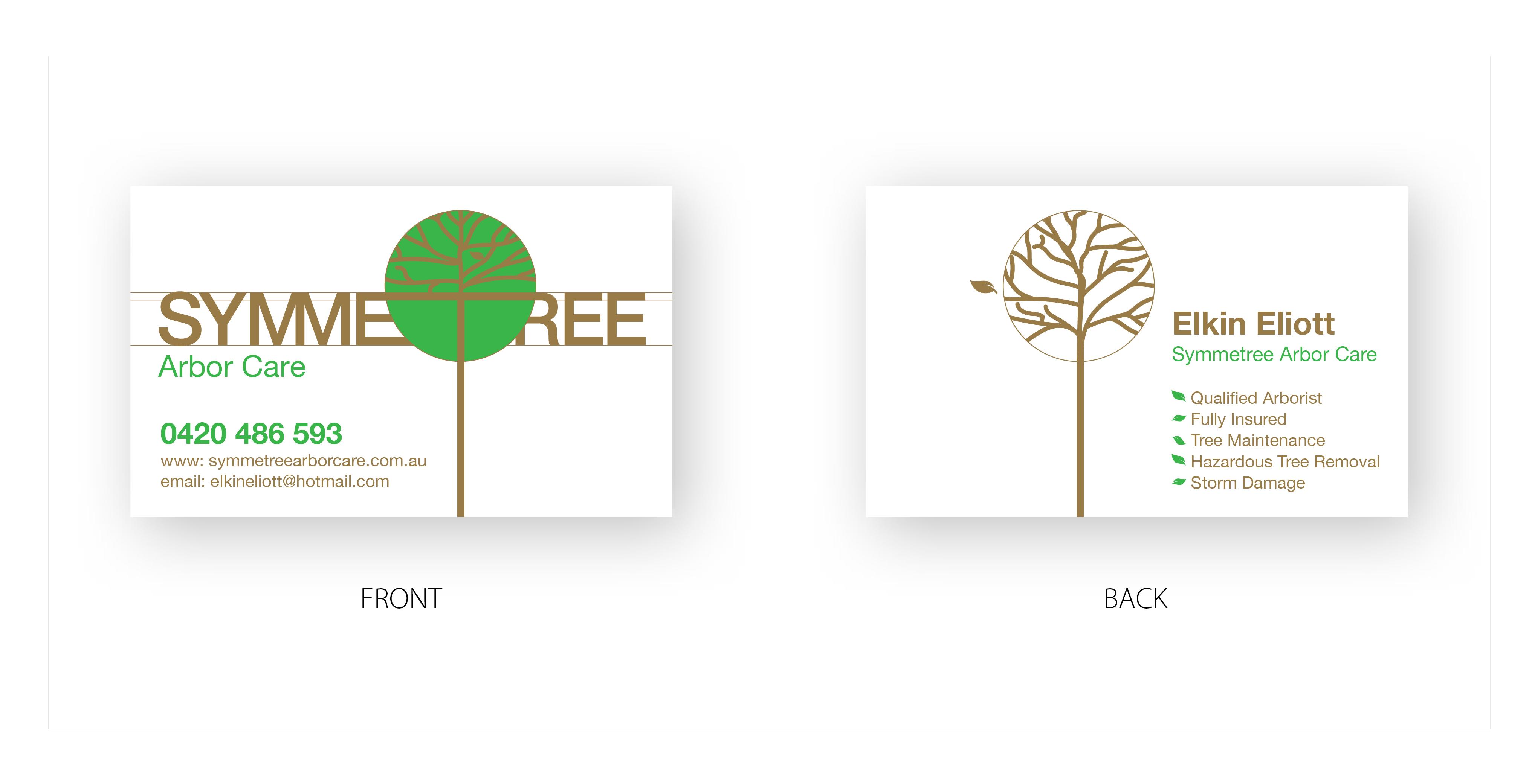 Symmetree Business Card