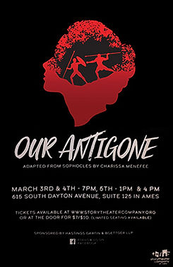 Our Antigone by Charissa Menefee