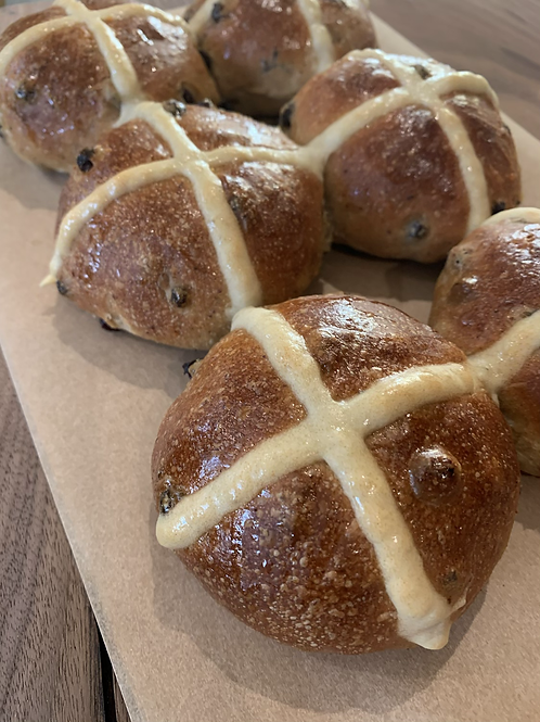 Hot Cross Buns -4 Pack