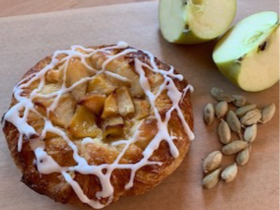Apple Cardamom Danish