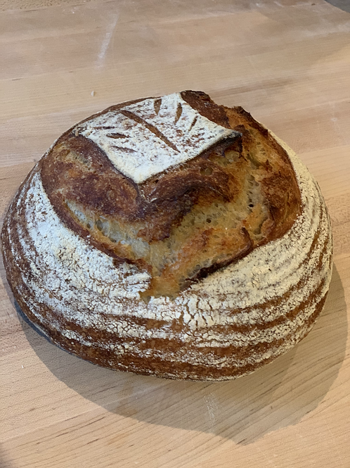 Country Sour Wheat Boule