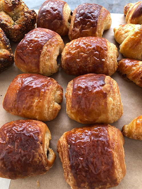 Combo Pain au Chocolat/Nutty Monkey  4-Pack (2 of each)