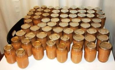 A Few Jars Of Applesauce
