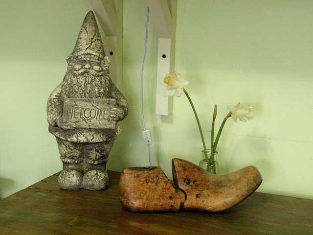 Wooden shoe last, home decor