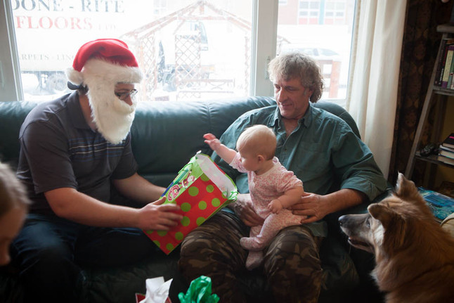 Monday Morning Musings. Baby's First Christmas