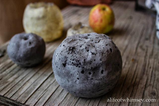 concrete apple