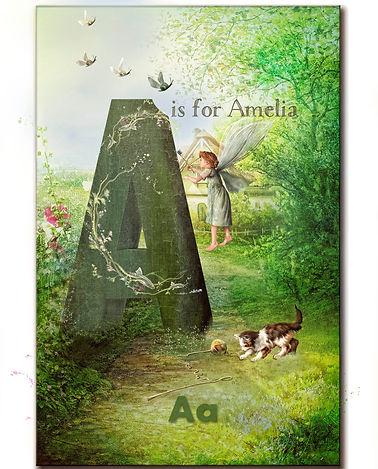 ABC card  A Amelia vintage.jpg