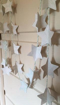 Guirlande Étoiles mint