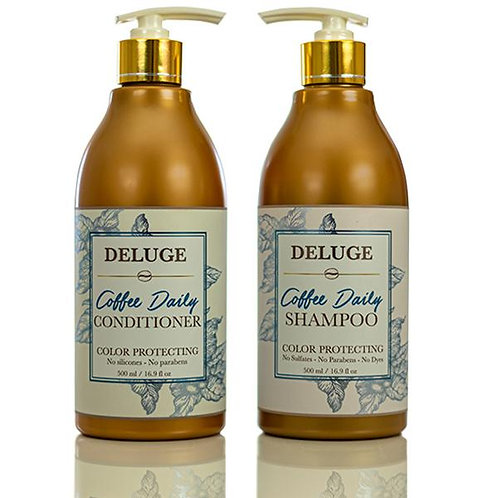 Deluge Coffee Daily Shampoo and Conditioner Set
