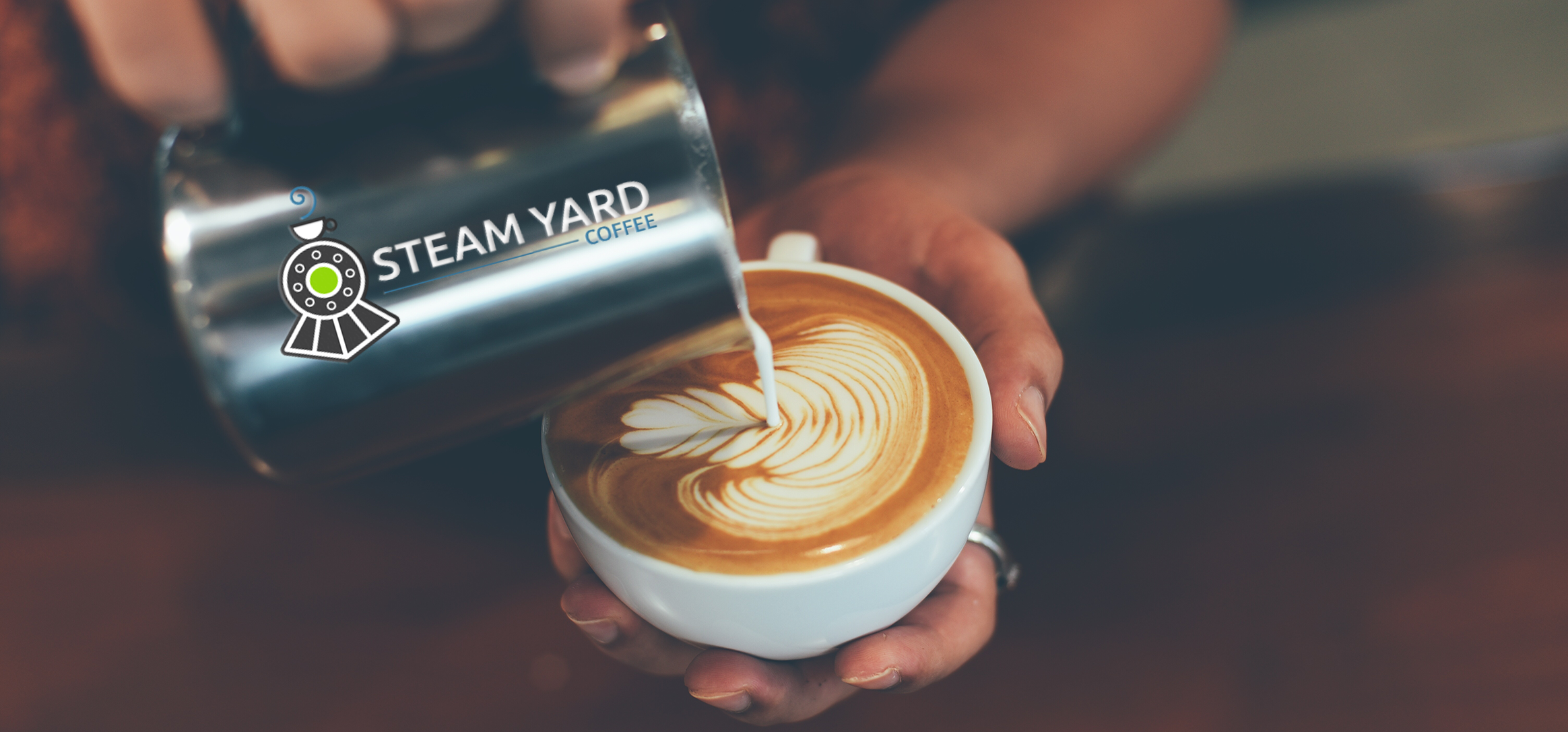 Steam Yard Signature Latte