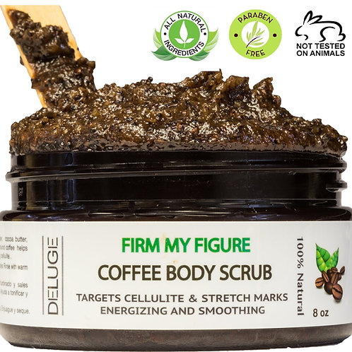 Deluge Cosmetics - Coffee Scrub Cellulite Treatment