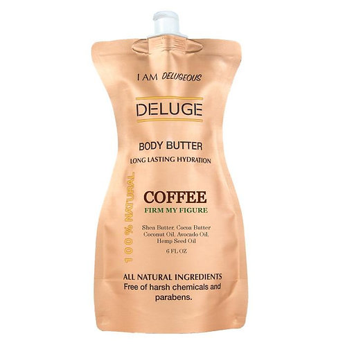 Deluge Cosmetics - Natural Body Butter Coffee
