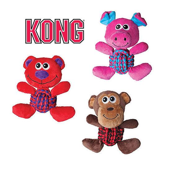 Jouet KONG Weave Knots cochon ou singe