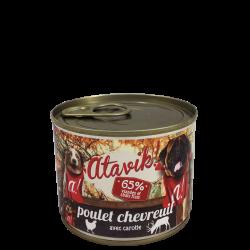 Pâtée poulet-chevreuil (6x200g)