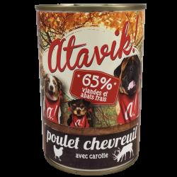 Pâtée poulet-chevreuil (6x400g)