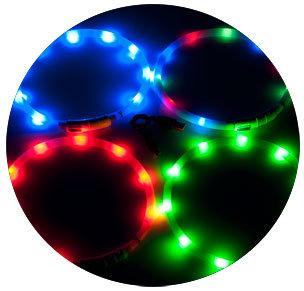 VISIO LIGHT LED COLLIER  70CM