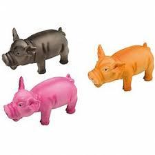 jouet cochon latex 17 cm