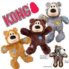 jouet peluche doudou ourson kong pour chien