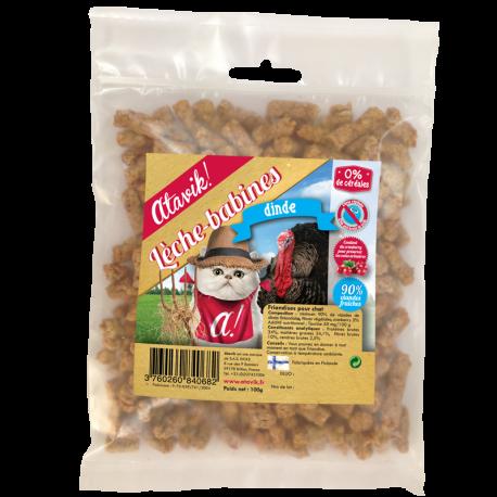 Lèche-Babines dinde - Friandises naturelles pour chat