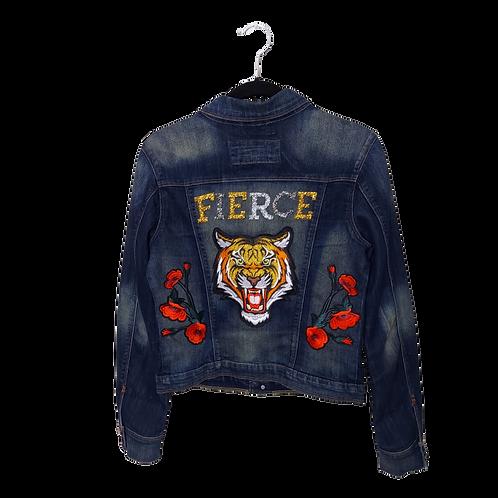 Fierce Tiger Denim Jacket