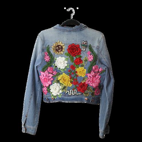 Spring Kiss Denim Jacket