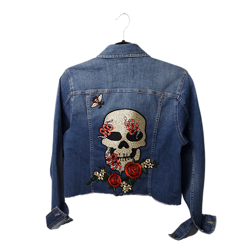 Skull & Roses Romance Jacket