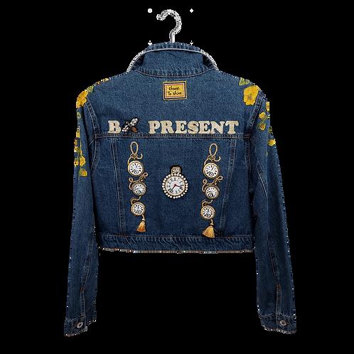 Bee Present Denim Jacket
