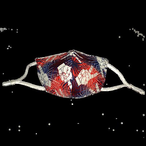 Peace & Fireworks Mask