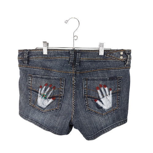 Choose Joy Z. Cavaricci Denim Shorts