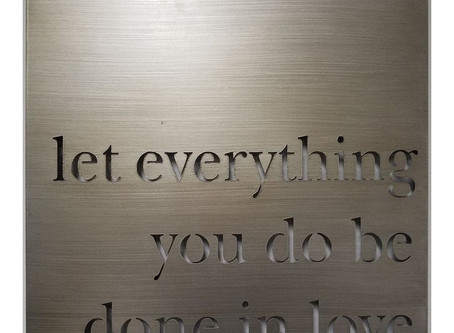 Let Everything You Do....