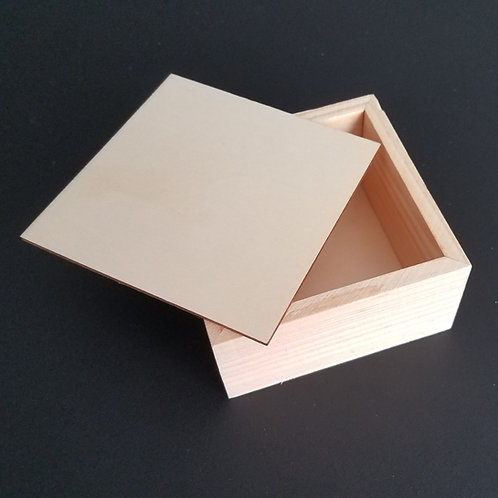 Prayer Box - Removable Lid - 3.75""