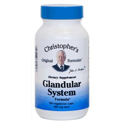 Dr. Christopher's Glandular System - 100 capsules