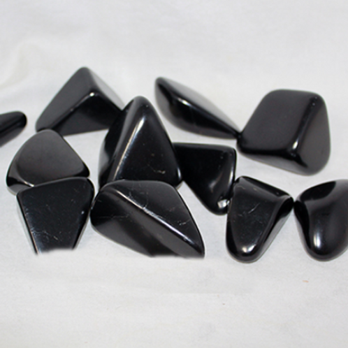"Shungite Free Form Polished Stones - 2""-3"" - single or set"