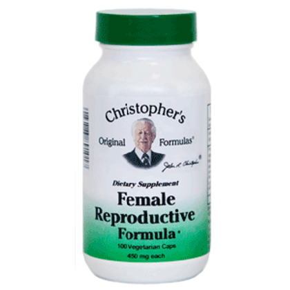 Dr. Christopher's Female Reproductive Formula - 100 capsules