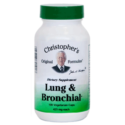 Dr. Christopher's Lung & Bronchial Formula - 100 capsules