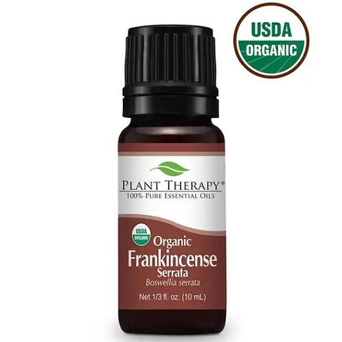Organic Frankincense Essential Oil from Plant Therapy - 10ml