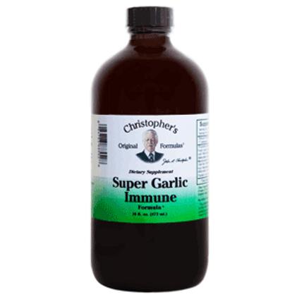 Dr. Christopher's Super Garlic Immune - 16 oz.