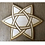 Thumbnail: copy of Crystal Grid Base - Celtic Star - Wood - 6""
