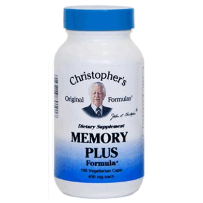 Dr. Christopher's Memory Plus Formula - 100 capsules