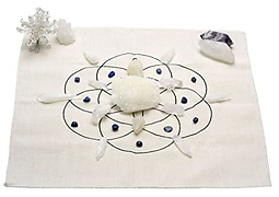 crystal grid - seed of life - cloth with