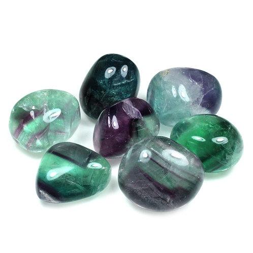 Fluorite - medium polished stones - single or sets