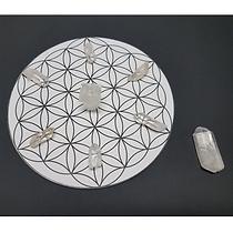 crystal grid flower of life base set - s
