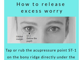 Release Excess Worry with Acupressure