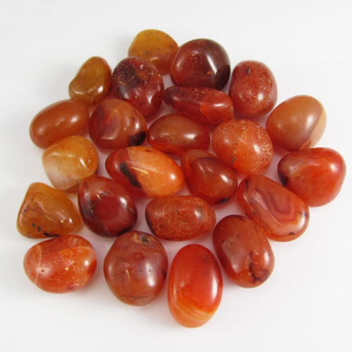 Carnelian - medium polished stones - single or sets