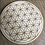 Thumbnail: Crystal Grid Base - Flower of Life - Wood - 8""