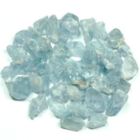 Celestite - small polished stones - single or sets