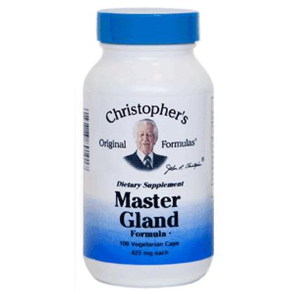 Dr. Christopher's Master Gland Formula - 100 capsules