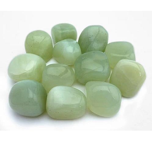 Jade (light) - medium polished stones - single or sets