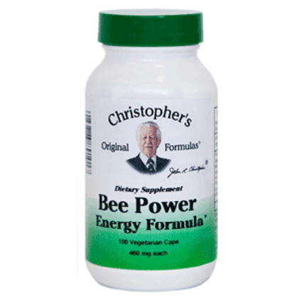 Dr. Christopher's Bee Power Energy Formula - 100 Capsules